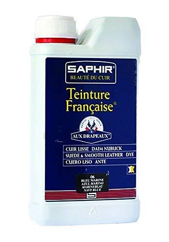 Saphir Liquid Dye Teinture Francaise – Recolor Smooth Leather, Suede & Nubuck