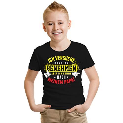 Spaß kostet Kinder Tshirt Ich komme nach Meinen Papa Größe 86 bis 164