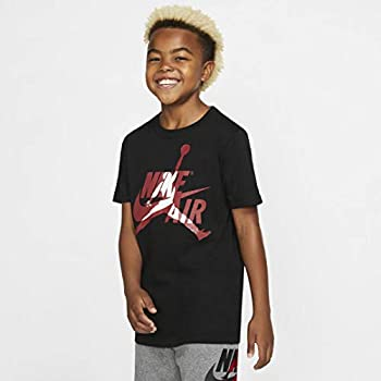 Nike Air Jordan Big Boys Short-Sleeve Jumpman T-Shirt Jordan  X-Large Black