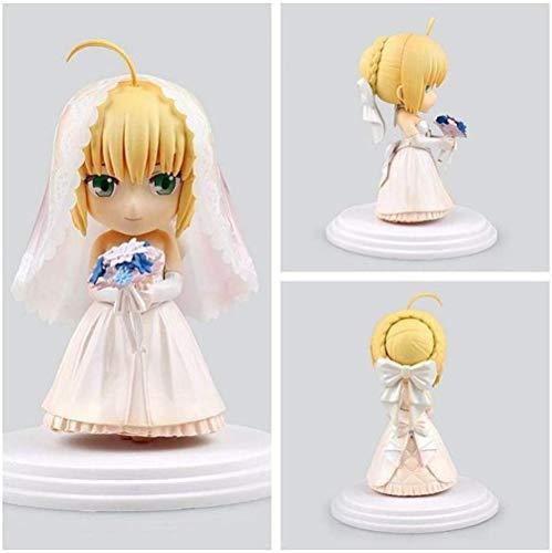 Vbnmda Hochzeitskleid SEBA Destiny Figure Q Version Handgemachte Tonbox Modelldekoration China Modifizierte Version