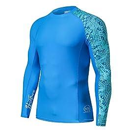 HUGE SPORTS Men's Splice UV Sun Protection UPF 50+ Skins...
