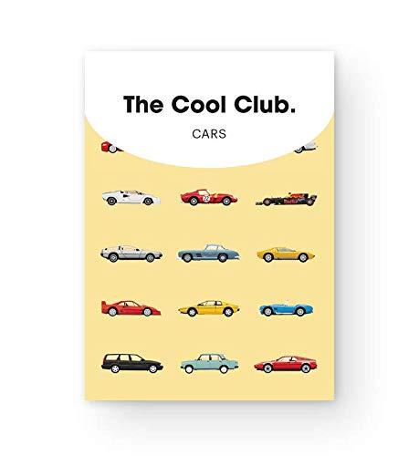 トランプに描かれているのは、歴史に名を遺す名車たち。クラシックなレースカーやセダンなど様々な車たちのイラストを楽しめます。