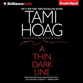A Thin Dark Line audiobook cover art