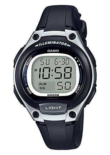Casio Reloj Digital para Mujer de Cuarzo con Correa en Plástico LW-203-1AVEF