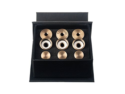 Trumpet Trim Kit for improving the sound. for all Yamaha (All YTR) Trumpet. Custom made KGUBrass (MEDIUM, Antique Bronze Lacquer)