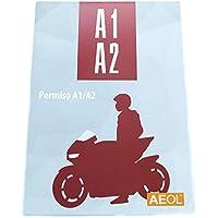 Libro Carnet de moto A1 A2 AEOL Actualizado 2020 Libro autoescuela Manual permiso motocicleta