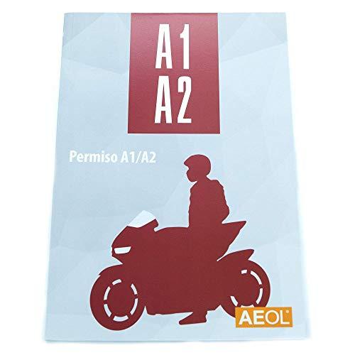 Libro Carnet de moto A1 A2 AEOL Actualizado 2021 Libro autoescuela Manual permiso motocicleta