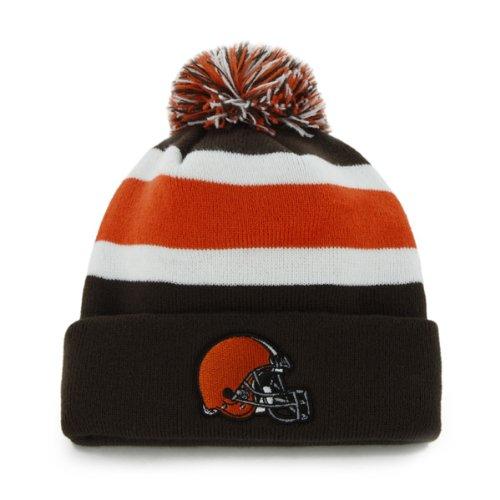 744bcf2c2ac  47 Brand Breakaway Fashion Cuff Beanie Hat with POM POM - NFL Cuffed  Winter Knit.