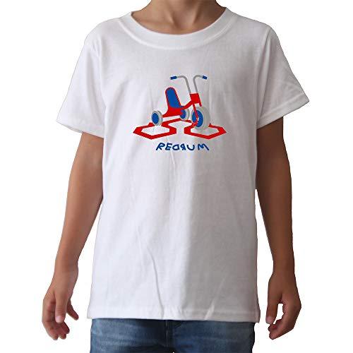 GAMBA TARONJA Redrum - Camiseta - Infantil - Triciclo - The Shining - EL Resplandor