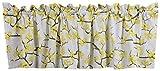 Crabtree Collection cenefa de algodón para cortinas cortas para ventanas de cocina (40x152_cm)