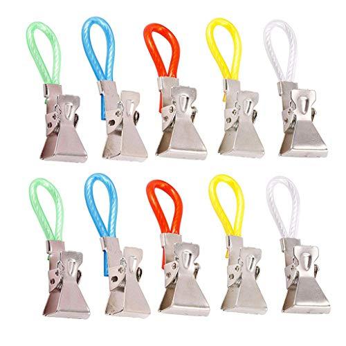 Dauerhaft Tee Handtuch Hängend Clips Clip ein Haken Schleifen Hand Kleiderbügel Metall Badetuch Sonnencreme