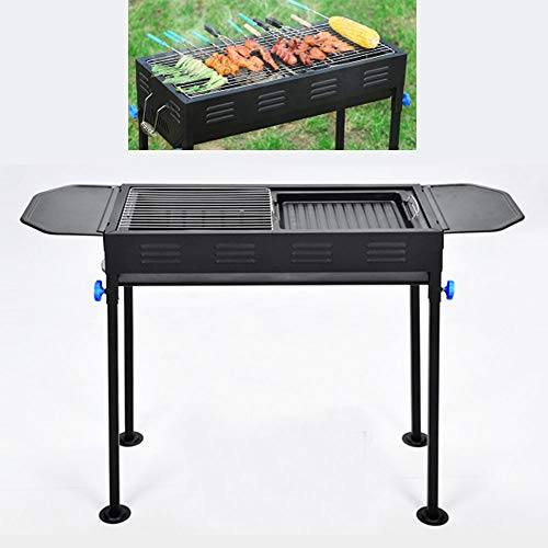 DOLA BBQ Grill Portable, Tischgrill, Holzkohle Grill für BBQ Party Garten Camping Picknick