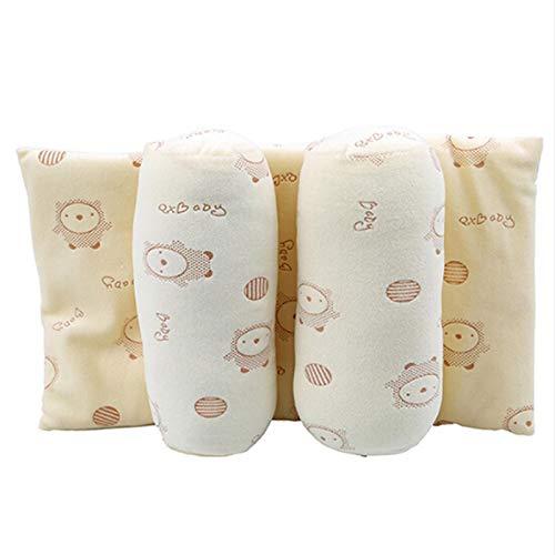 Nuevo posicionador, almohada antivuelco para bebé, almohada protectora de algodón para bebé, almohada moldeadora para dormir, cojín de soporte para la cabeza para recién nacido