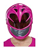 Horror-Shop Máscara Rosa Ranger Kids Half Mask Power Rangers