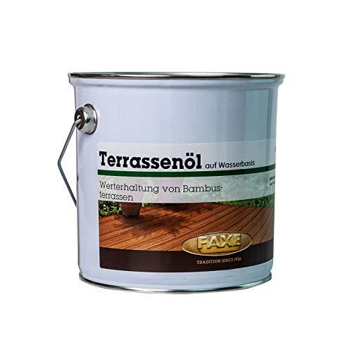 Faxe Terrassenöl Bambus 2,5 Liter Terrassenmöbel Öl Holzmöbelpflege