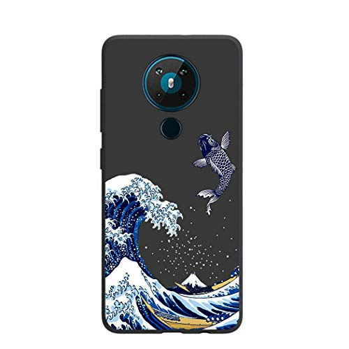 Entaifeng for Nokia 5.3 Case,Scratch Resistant Grippy Soft TPU Rubber Full Body Protective Phone...