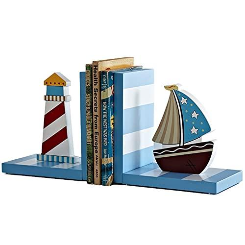 Sujetalibros Estanteria Bookends de madera Desktop Creative Sookends Booking Finaliza para estantes Libro de estantería Estante de escritorio Decoración de escritorio Sala de estudio Librería Librería
