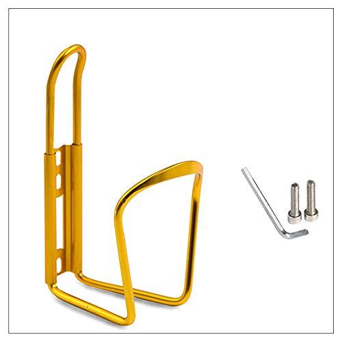 DLSM Portabidón de Bicicleta Bicicleta de montaña aleación de Aluminio Ultraligero portavasos de Agua Ajustable Bicicleta de Carretera Accesorios para Bicicletas Colgantes libres-C17