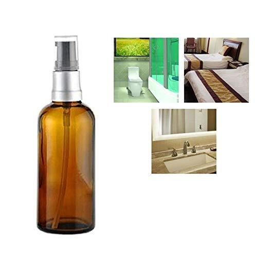 xiamenchangketongmaoyi Dosificador Jabon Baño Dispensador Jabon Cocina Recargable Botellas vacías Dispensadores de jabón para Baño Recargable Botella de plástico 100ml