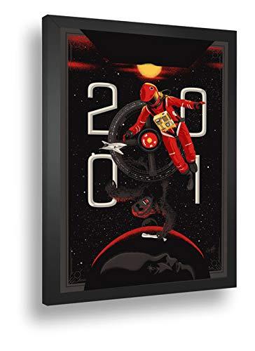 Quadro Decorativo Poster 2001 Uma Odisseia No Espaço Filme