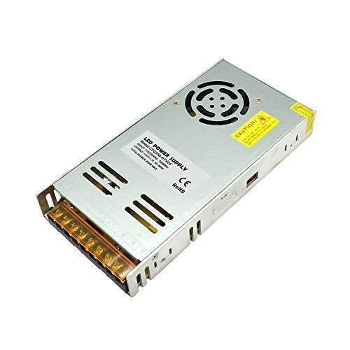 Dapenk Caja de Aluminio Ultra Delgada para Interior con Malla Fuente de alimentación 24V 350W PSU LED de la Serie CPS Fuente de alimentación para lámpara de Tira LED (CPS350-H1V24)