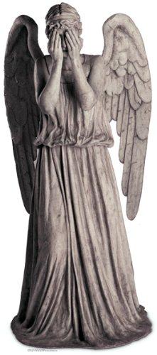 US-Way e.K. Pappaufsteller Dr Who - Weeping Angel (Weinender Engel) Aufsteller Standup Figur Kinoaufsteller Pappfigur Cardboard Lebensgroß Life-Size Standup