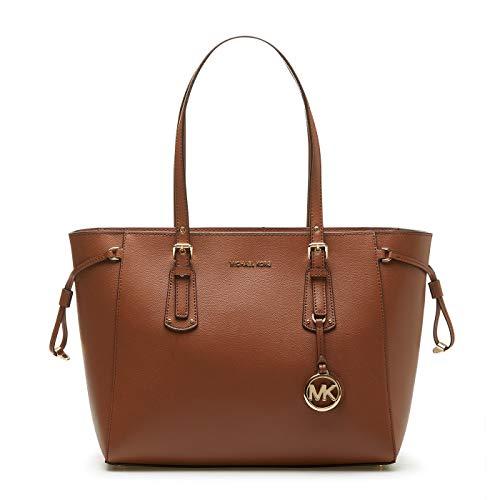 Michael Kors Womens Voyager Handtasche, Luggage, Medium