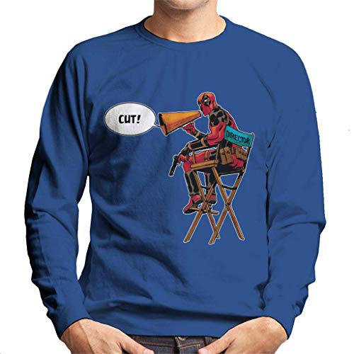 Marvel Deadpool Director Shouting Cut Men's Sweatshirt