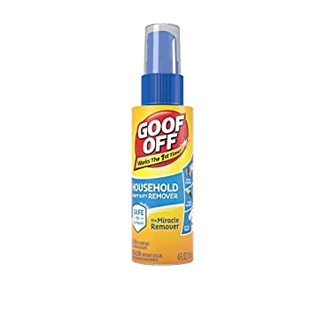 Goof Off - Household Heavy Duty Remover for Spots Stains Marks and Messes – 4 fl oz