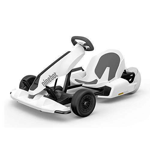 SEGWAY Gokart Kit per Scooter Elettrico Go Kart, Dimensione Unica, Colore: Bianco Unisex-Adulto, Taglia