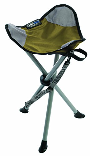 TravelChair Slacker Chair, Tripod Stool, Green