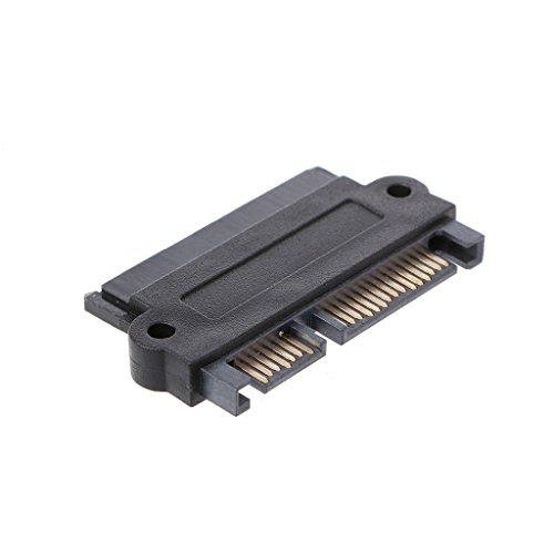 Goodqueen SFF-8482 22 pinos SAS para adaptador conversor SATA de 7 + 15 pinos para disco rígido