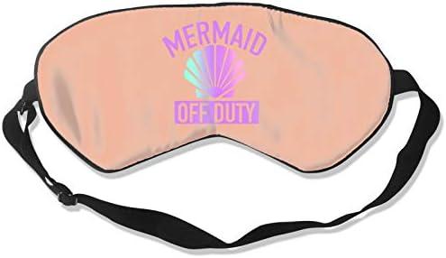 100 Silk Sleep Eye Mask Mermaid Off Duty Night Sleep Mask Meditation with Adjustable Straps product image