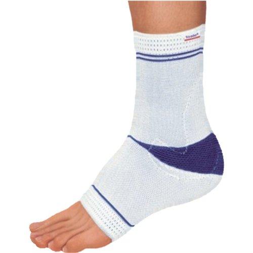 Tricodur Talus actieve bandage wit/blauw, links maat XL (BSN), enkel- en springbandages