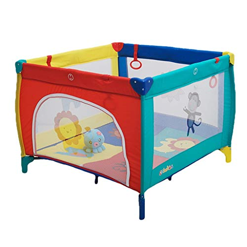 Find Discount Baby playpen 4-Panel Playard Playpen Portable Washable Fence with Playmat& Carry Case ...