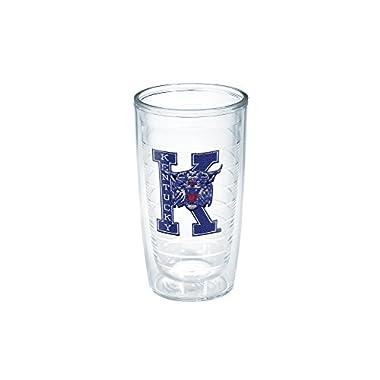 Tervis 1037890 Kentucky University Vault Emblem Individual Tumbler, 16 oz, Clear