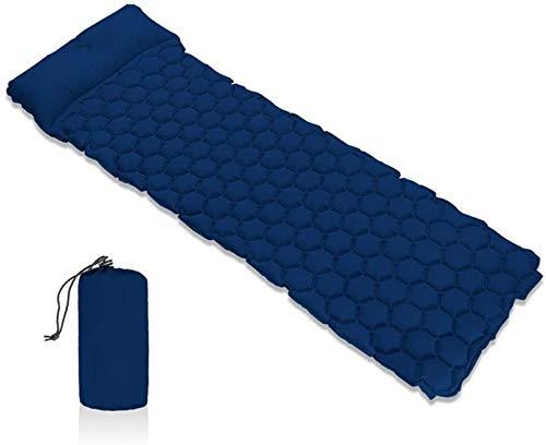 Sac de couchage Tapis de Sol, Tapis de Camping gonflables Tapis de Camping avec de l'air Sofa d'un Coussin d'air Gonflable Oreiller