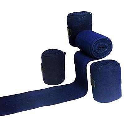Best on Horse Standard Basic Essential Bandages Navy Blue