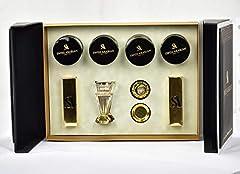 1.Dukhoon Al Haram - 2.Dukhoon Al Jazeera 3.Muattar Angham Dhahbi - 4.Muattar Shuyookh 2 pack of Charcoals 1 Beautiful crystal Mabkhar Gift Pack includes 4 types of Bakhoor