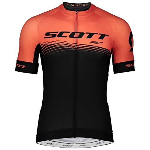 Scott RC Pro Fahrrad Trikot kurz schwarz/orange 2019: Größe: M (46/48)