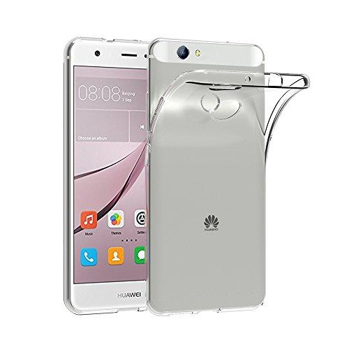 AICEK Huawei Nova Hülle, Transparent Silikon Schutzhülle für Huawei Nova 5.0 Zoll Hülle Ultra Crystal Clear Durchsichtige TPU Bumper Huawei Nova Handyhülle