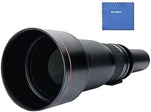 BiG DIGITAL 650-1300mm f/8-16 IF Telephoto Zoom Lens For The Sony Alpha Series SLT-A33, SLT-A35, SLT-A37, SLT-A55, A57, SLT-A57, SLT-A57M, SLT-A57K, A58, SLT-A58, SLT-A58K, A65, SLT-A65V, SLT-A65VL, A77, SLT-A77, A77II, A99, SLT-A99V, A100, A200, A230, A290, A300, A330, A350, A380, A390, A450, A500, A560, A550, A580, A700, A850, A900 Digital SLR Cameras