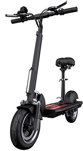 CDGC Scooters para Adultos Scooter eléctrico con Alto Rendimiento, 34 mph, Velocidad máxima, Plegable y portátil, e-Scooter, Compatible con Control de Crucero y Carga USB