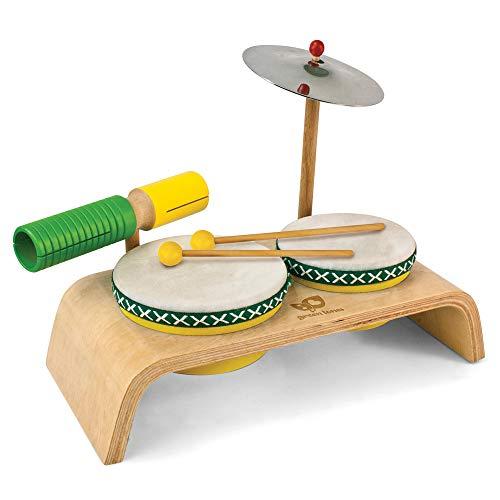 Hohner Green Tones 3750 Beginner Drum Set
