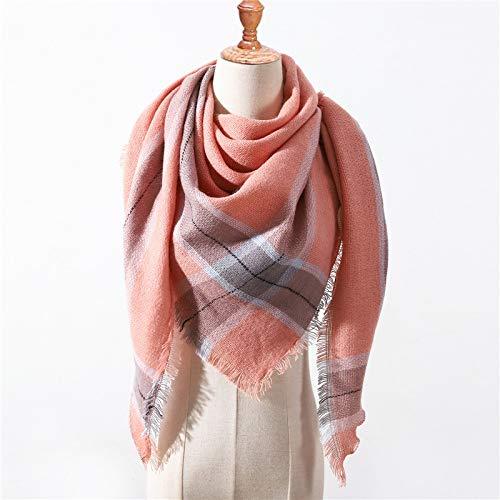 Ztweijin Designer nieuwe winter sjaal voor vrouwen sjaals plaid dames sjaals nek warm Triangle bandana