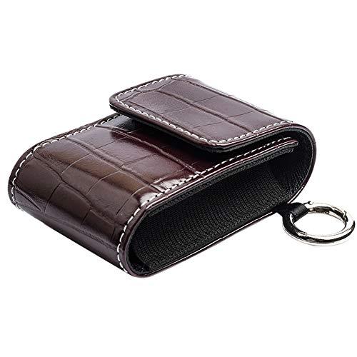 Sonnena 1Stück Leder Aufbewahrungsbeutel Für Fingersättigungsmesser Recycelbar Aufbewahrungstasche Kompakt Mit Trennstreifen
