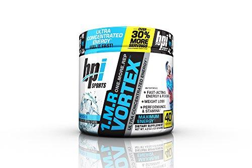 BPI Sports 1.M.R Vortex Pre-Workout Powder, Arctic Ice, 4.2 Ounce