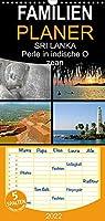 SRI LANKA - Familienplaner hoch (Wandkalender 2022 , 21 cm x 45 cm, hoch): Perle im indischen Ozean (Monatskalender, 14 Seiten )