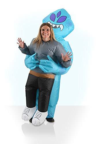 AirSuits Aufblasbare Blow-Up Alien Kostüm Unisex Ventilator betriebener Anzug Ideal für Halloween, Festivals und Partys