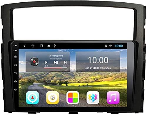 ZHANGYY El Coche con navegación GPS Bluetooth es Compatible con Mitsubishi Pajero 2006-2012 Máquina integrada Android Reproductor Multimedia con navegación Totalmente táctil